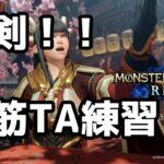 【モンスターハンターライズ】大剣TA練習 Vtuber界の白い脳筋【ソルト伯爵】